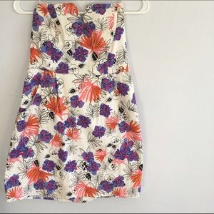 J. Crew Dresses & Skirts - Strapless Floral Dress