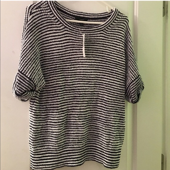 J. Crew Tops - NWT J crew striped sweater!