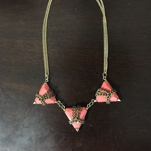 Piperlime Coral and Peach Necklace