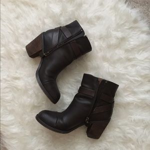 LOFT Shoes - Loft brown booties