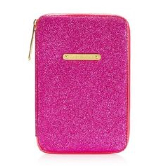 Juicy Couture Pink Glitter E-Reader Tablet Case NWT