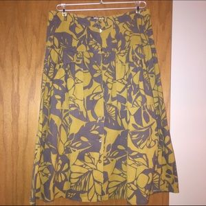 d'Oliver Dresses & Skirts - d'Oliver Yellow and Grey Skirt