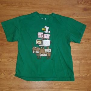 Uncommon Other - Boys green tshirt