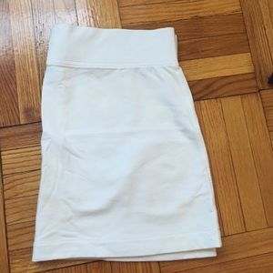 J.Crew White Tennis Skirt