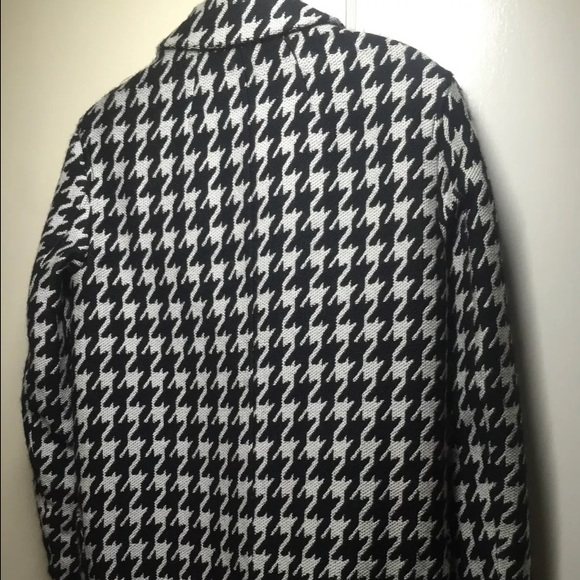 Theory Jackets & Coats - THEORY DANVEG BROOKLINE HOUNDSTOOTH WOOLBLEND COAT