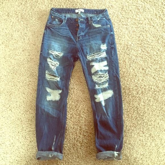 Size 58404a05522b45c3a9028f90 JeansM 4 Mango Ripped Boyfriend y8wvNnOPm0
