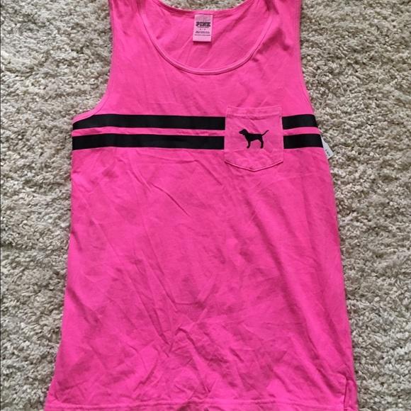 9097a0b2a9b1a Victoria Secret Pink Campus Tank