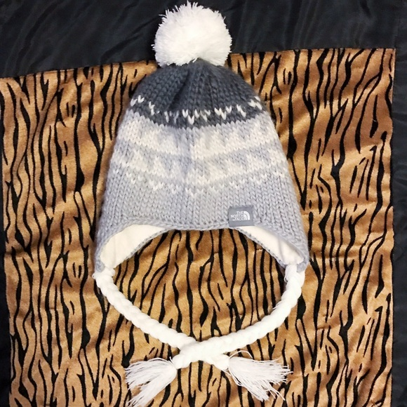 5ebdffbfb ❄️NWOT North Face Earflap Hat❄️