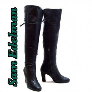 Final Price! NWOT Sam Edelman leather boots
