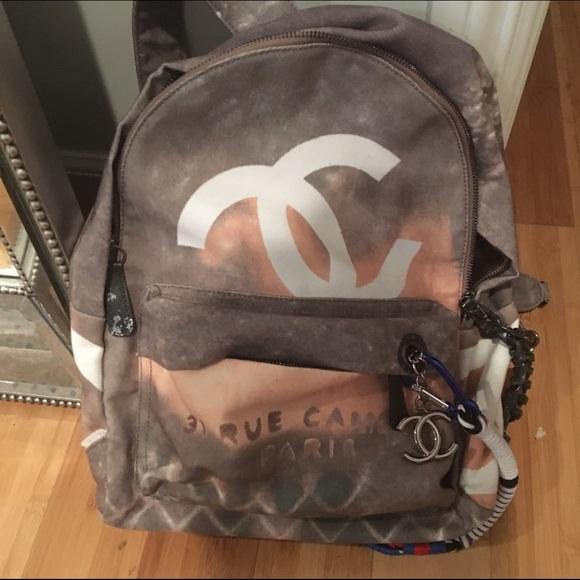 706559bb42f1 CHANEL Handbags - Chanel graffiti backpack