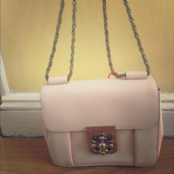b8b769c13d Chloe Bags | Elsie Shoulder Bag In Cement Pink | Poshmark
