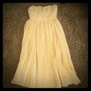 H&M Cream Formal Dress