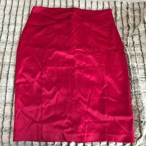 6c5ff05d3 ASOS Skirts | Pink Satin Pencil Skirt | Poshmark