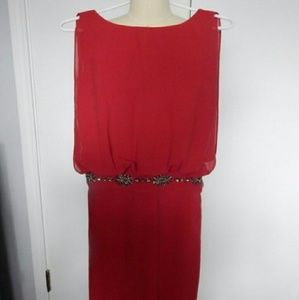 Esley Dresses & Skirts - *Final Sale* ESLEY red beaded dress