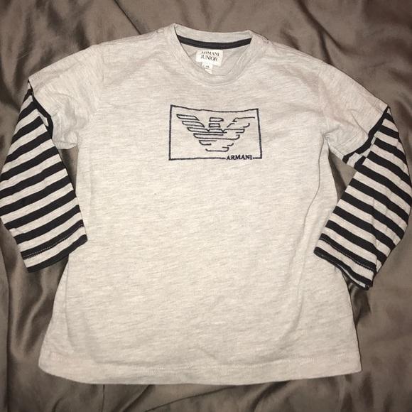 2f409f737 Armani Junior Shirts & Tops | Long Sleeve Shirt | Poshmark