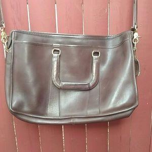 Vintage Coach Leather Briefcase or Laptop Bag