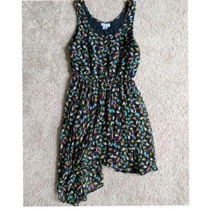 Charming Charlie bird print dress