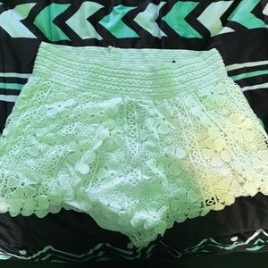 No Boundaries Lace Shorts