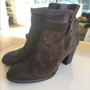 Paul Green Shoes - Paul Green Dallas Suede bootie Size 7.5