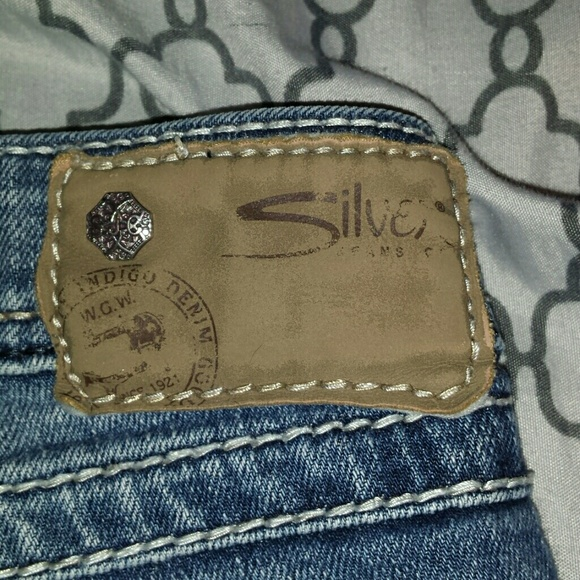78% off Silver Jeans Denim - Silver Tuesday mid baby boot w26/L33 ...