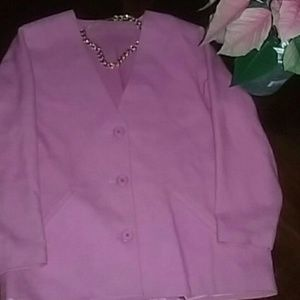 Jackets & Blazers - Great condition woman's pink jacket