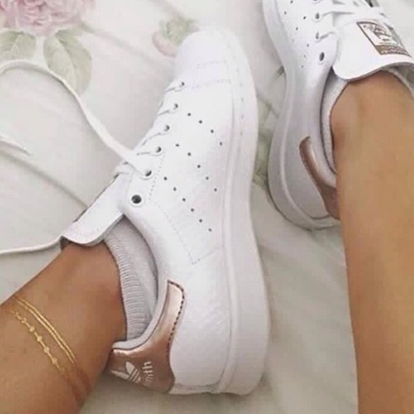 pretty nice e701d e8f35 Rose🌹Gold Stan Smith NWT
