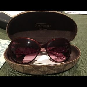 Coach poppy Sunglasses