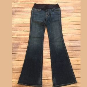 7 for all mankind maternity jeans Sz a small