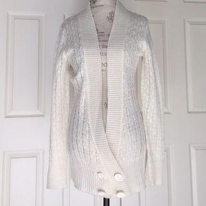 Skunkfunk Sweaters - NWT Cable Stitch Wool Blend Cardigan