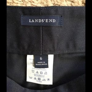 Lands' End Skirts - Womens navy skirt