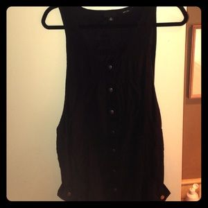 Black Silk Anna Sui Dress