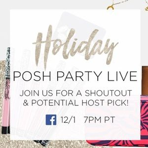 Other - Hosting LIVE from Poshmark HQ tonight! 🎈