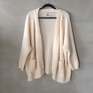 UNIF buttonless cardigan