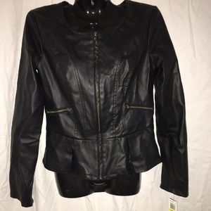 xoxo Jackets & Blazers - New Xoxo Moto Jacket, Size Medium