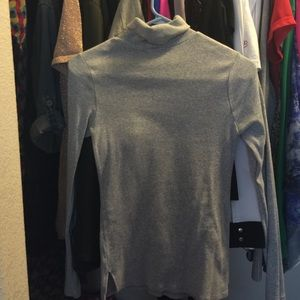 Ambiance Apparel Tops - Grey Turtle Neck/ Feel Free To Make An Offer