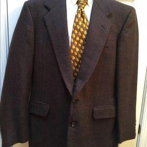 Hickey Freeman Other - Hickey Freeman brown blazer size 42S