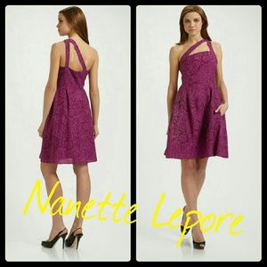 NWOT❣Nanette Lapore❣Gorgeous jacquard dress