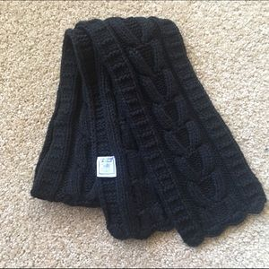 April Cornell Other - April Cornell Black Knit Scarf, Fit approx Age 3-5