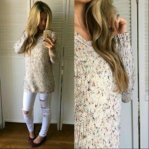 ✨HPx2✨ BOUTIQUE confetti sweater