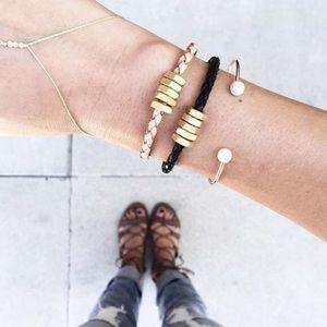Half United Jewelry - ☆ Honeybee Bracelet - Natural