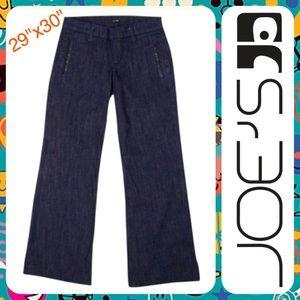 JOE'S JEANS Low Rise Dark Wash Bootcut Trouser