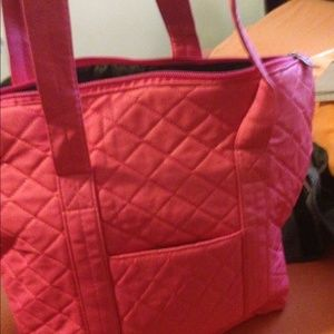 f20e357ee91c Bags - Pink quilted tote - similar to Vera Bradley 🌷🎀