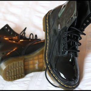 Dr. Martens Shoes - Doc Martens Patent Boots