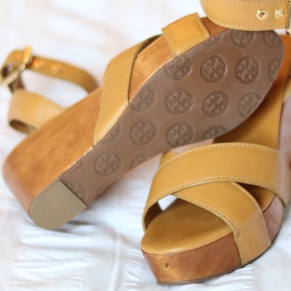 Tory Burch Shoes - Tory Burch Almita Mid Wedge SOLD