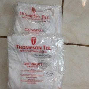 Thompson Tops - Thompson Tee V neck large