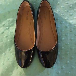 Patent Leather Black Flat