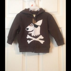 Crazy 8 Other - NWT Crazy 8 dog and bones hoodie!! 🐆😊🐆😊