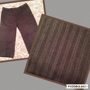 Anthropologie Tapemeasure Striped Trousers 6