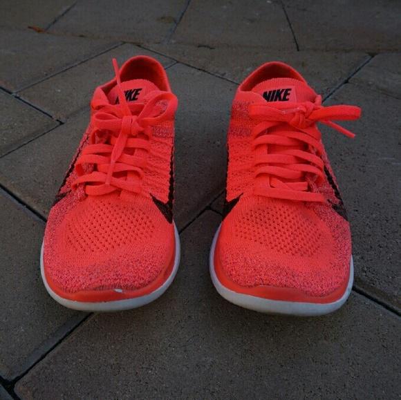 6c2208e46e78 Nike Shoes - Nike Free 4.0 Flyknit Red Orange