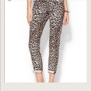 Rag& Bone Snow Leopard Jeans